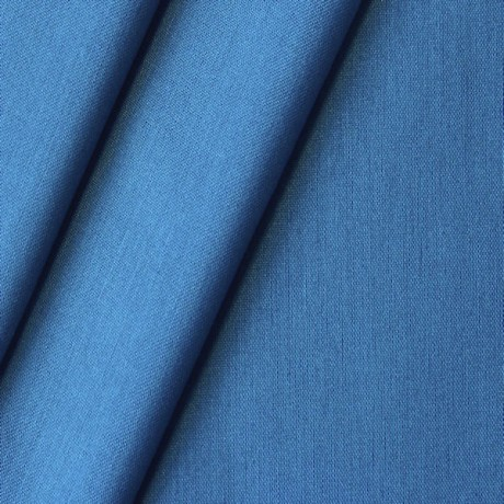 Modestoff / Dekostoff Chintz Royal-Blau