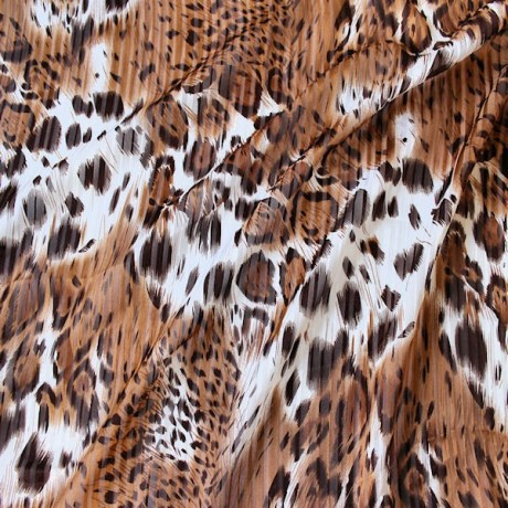 Modestoff Tierfell Braun