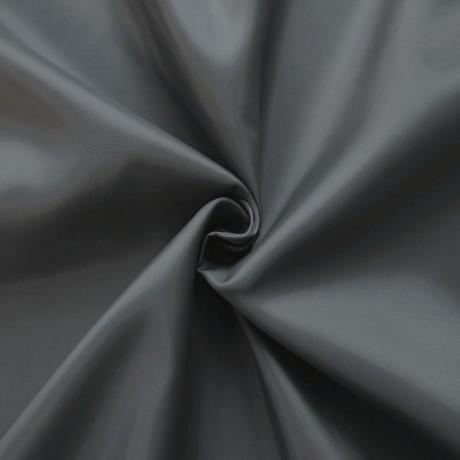 Polyester Taft Futterstoff Grau