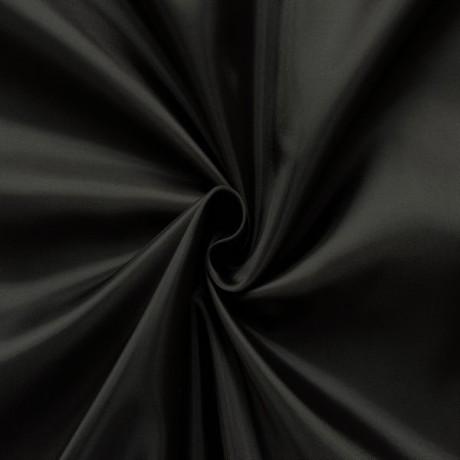 Polyester Taft Futterstoff Schwarz