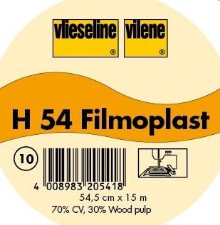 Vlieseline Stickeinlage Typ Filmoplast H 54 Weiss