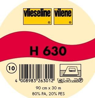 Vlieseline Volumenvlies Typ H 630 Weiss