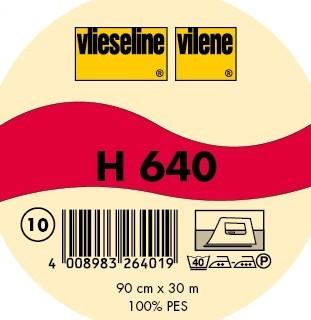 Vlieseline Volumenvlies Typ H 640 Weiss