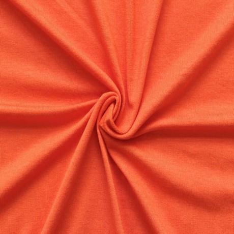 Viskose Stretch Jersey Orange