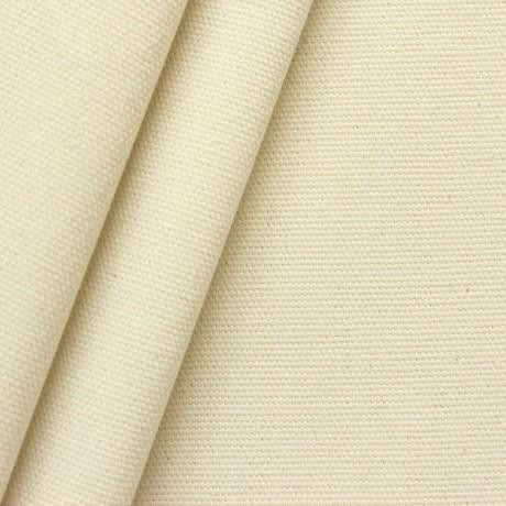 Baumwoll Canvas Segeltuch Roh-Weiss Natur
