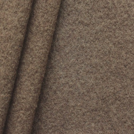 Wolle Walkloden Braun