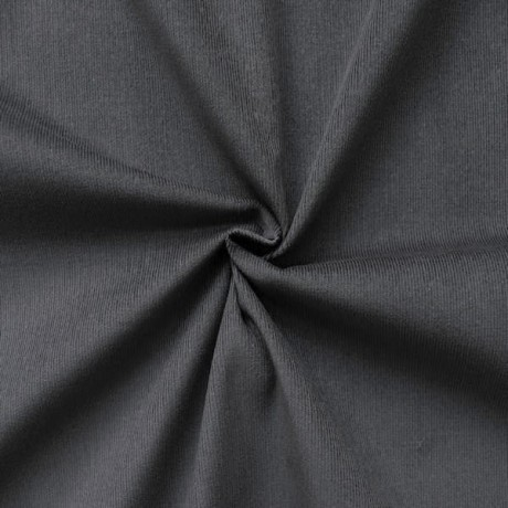 Baumwolle Feincord Babycord Grau