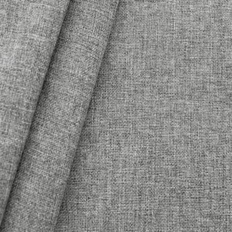 Polster- Möbelstoff Silber-Grau meliert