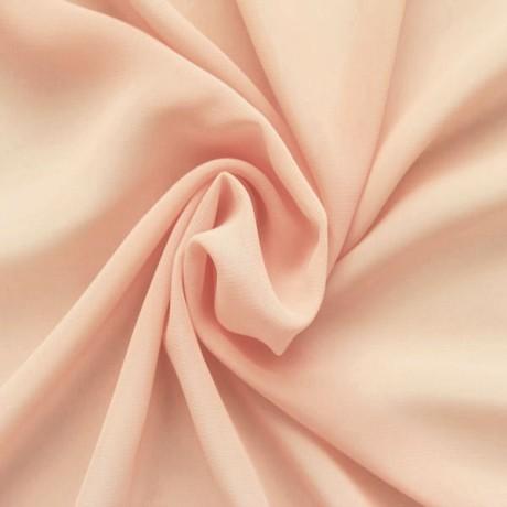 Polyester Chiffon Lachs