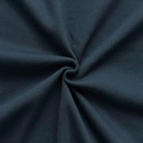 Sweatshirt Baumwollstoff Dunkel-Blau