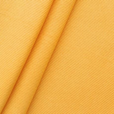 Baumwoll Bündchenstoff Gelb