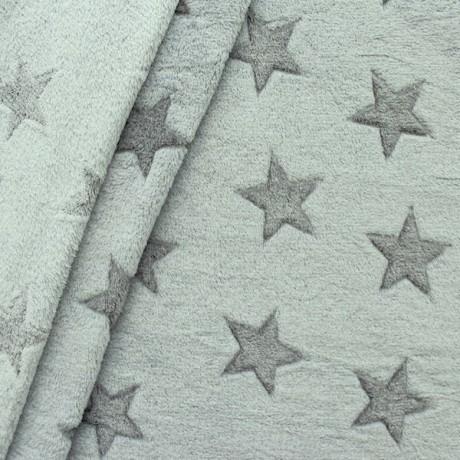 Wellness Fleece Sterne Grau
