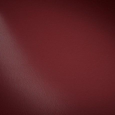 Polster PVC Kunstleder Farbe Burgund-Rot