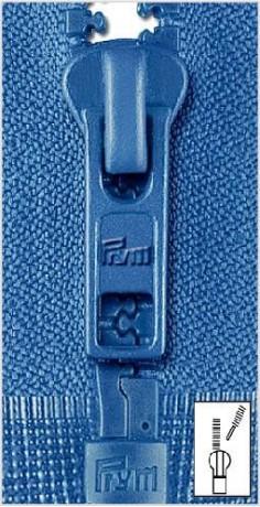 Reißverschluss S4 Profil teilbar 80 cm Fla - Farbe frei wählbar