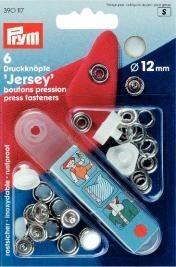 Prym 6 Stück Druckknöpfe Jersey 12mm