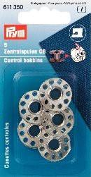 Prym 5 Stück Nähmaschinenspulen für CB-Greifer