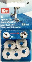 Prym 5 Stück Nähmaschinenspulen für Doppel-Umlaufgreifer