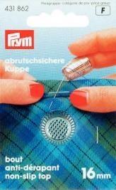 Prym Fingerhut ZDG 16mm silberfarbig