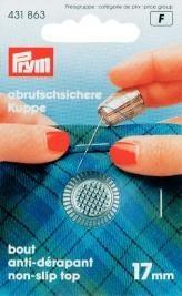 Prym Fingerhut ZDG 17mm silberfarbig