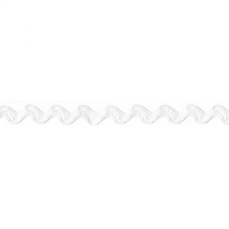 Prym Zackenlitze 10mm x 3m (Breite / Länge) weiss