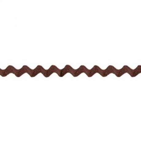 Prym Zackenlitze 10mm x 3m (Breite / Länge) braun