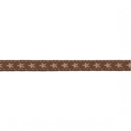 Prym Borte mit Stern 10mm x 2m (Breite / Länge) braun / beige
