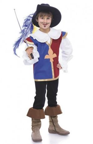 Kostüm: Musketier, Knappe, Gr. 104 - 140, Schnittmuster Burda 9659
