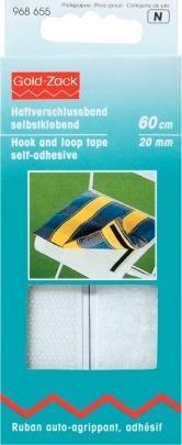 Prym Haftverschlussband selbstklebend 20mm breit weiß