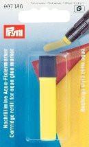 Prym Nachfüllmine für Aqua-Fixiermarker Farbe: gelb
