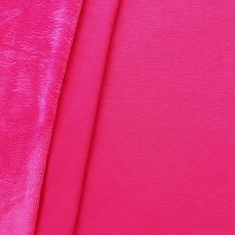 Alpenfleece Sweatshirt 2 Farbe Pink