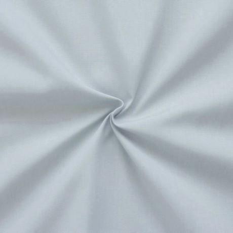 Baumwolle Polyester wie Batist Hell-Grau