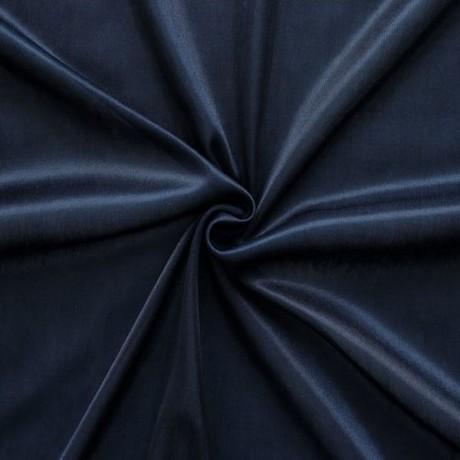 Charmeuse Bekleidungs- Futterstoff Nacht-Blau