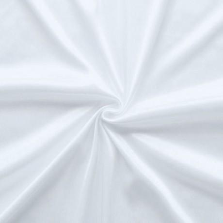 Charmeuse Bekleidungs- Futterstoff Weiss