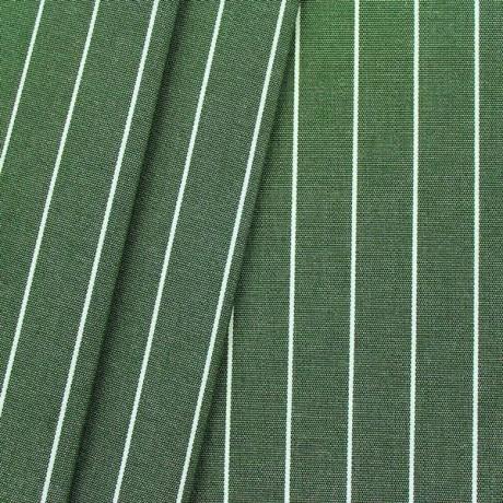 Deko Outdoorstoff Streifen fein Dunkel-Grün melange