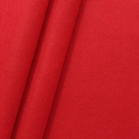 Dekorations Bastel Filz Rot