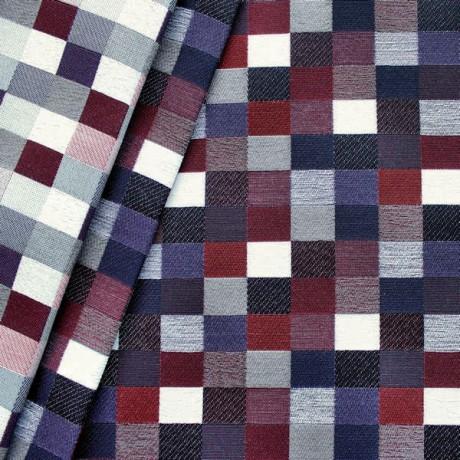 Dekostoff Möbelstoff Rechteck Muster Multicolor