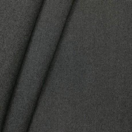 Markisenstoff Tuch Breite 120cm Anthrazit meliert