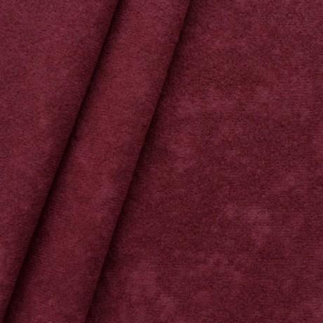 Microfaser Bekleidungs- / Möbelstoff Weinrot