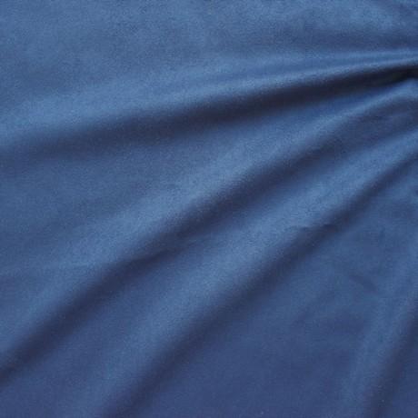 Microfaser Polster- Möbelstoff Saphir-Blau