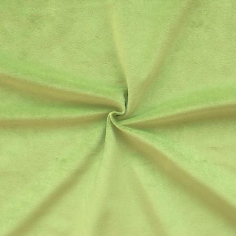 Microfaser Polster- Möbelstoff Lind-Grün