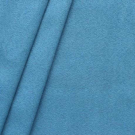 Microfaser Polster - Möbelstoff Brilliant-Blau