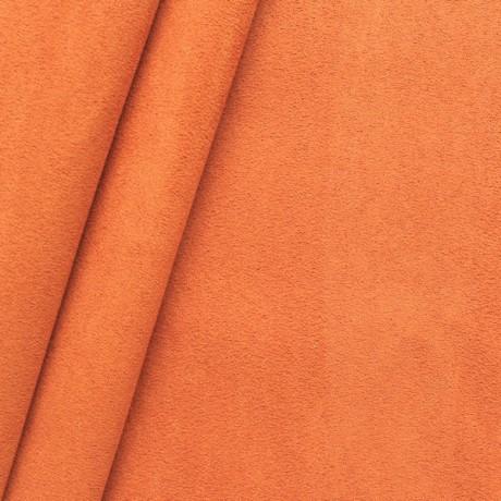 Microfaser Polster- Möbelstoff Orange