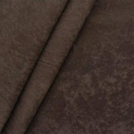 Microfaser Polster- Möbelstoff Dunkel-Braun