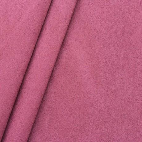 Microfaser Polster- Möbelstoff Rot-Violett