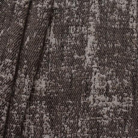 Polster- Möbelstoff Artikel Rodeo Antik-Optik Grau-Braun