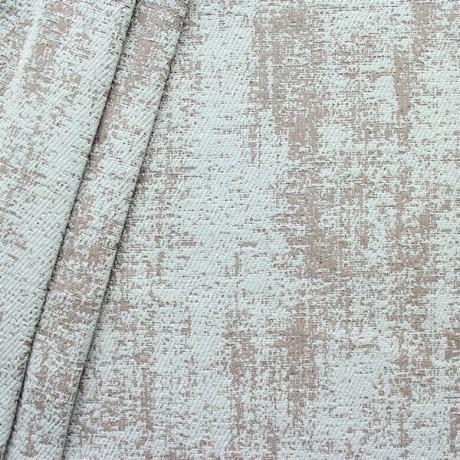Polster- Möbelstoff Artikel Rodeo Antik-Optik Hell-Grau