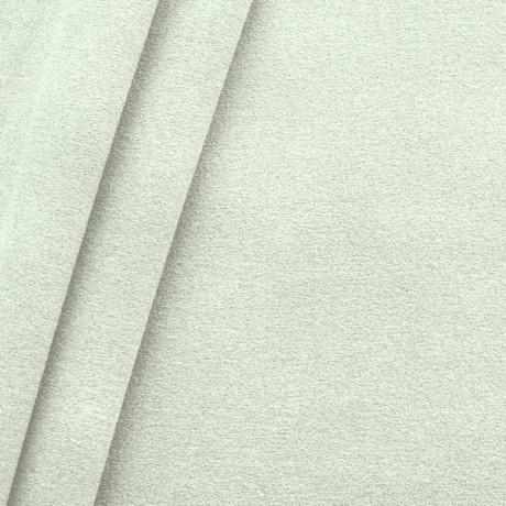 Polster-/ Möbelstoff Artikel Durban Schurwoll-Optik Weiss-Grau