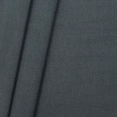 Polster- Möbelstoff Leinen-Baumwolle Optik Anthrazit