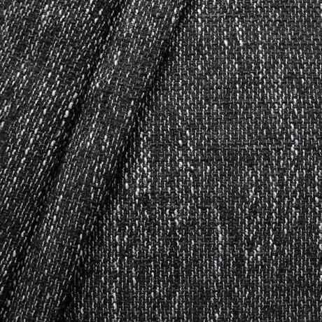 Polster- Möbelstoff Bouclé Optik Schwarz-Grau