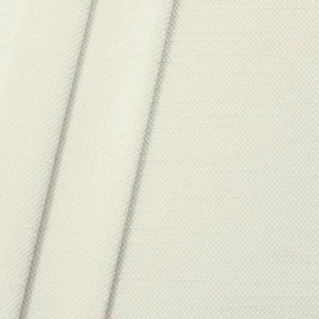 Polster- Möbelstoff Leinen-Baumwolle Optik Creme-Weiss